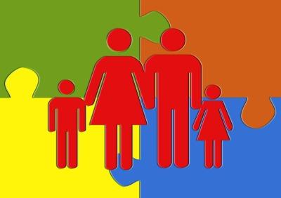 A kortárs család 13+1 formája